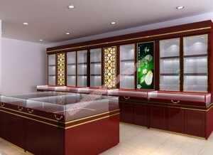 玉器展柜展台玉器珠宝展柜设计