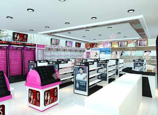 化妆品货架