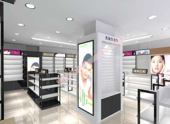 化妆品柜台设计