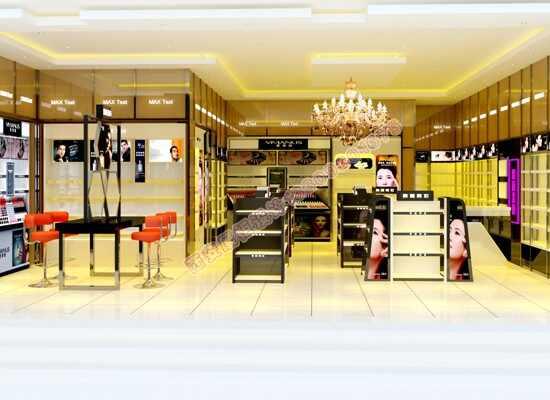 化妆品店面展柜