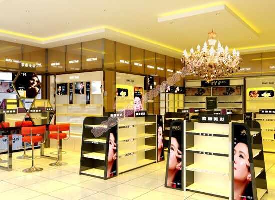 高端化妆品柜台