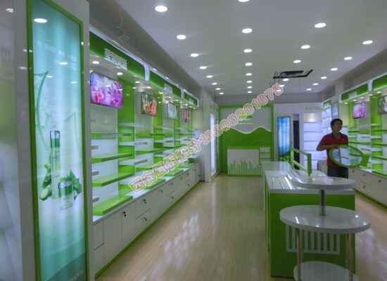 植物医生展示柜设计照片展示