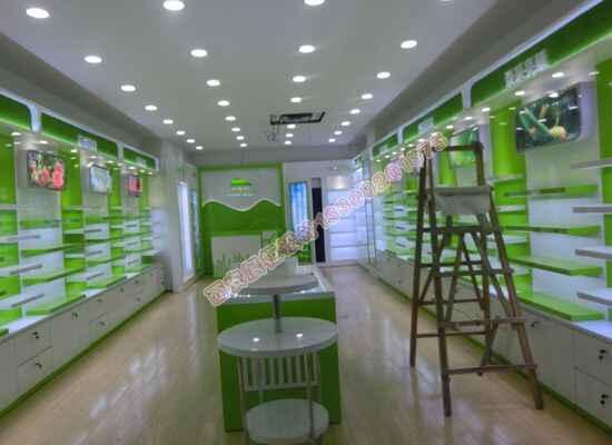 商场化妆品柜台展示柜