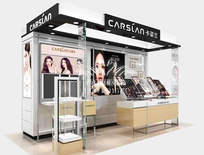 卡姿兰彩妆展柜设计方案