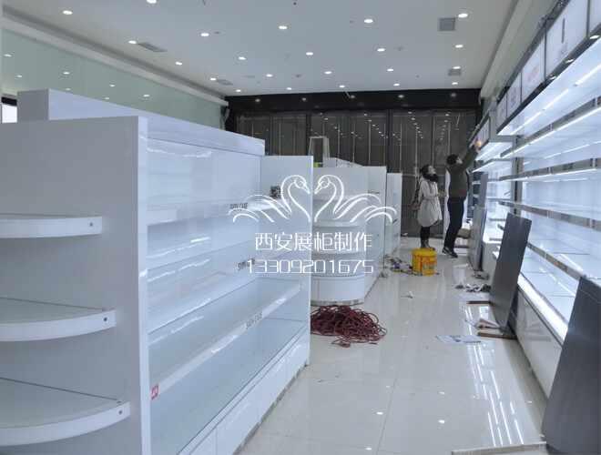 高端化妆品展柜制作