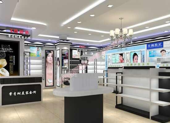 化妆品店面展柜设计