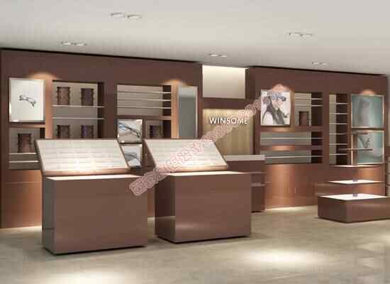 西安眼镜烤漆展柜设计与制作厂