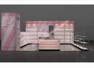 桌诗尼女鞋展柜设计方案