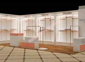 女装展柜设计方案
