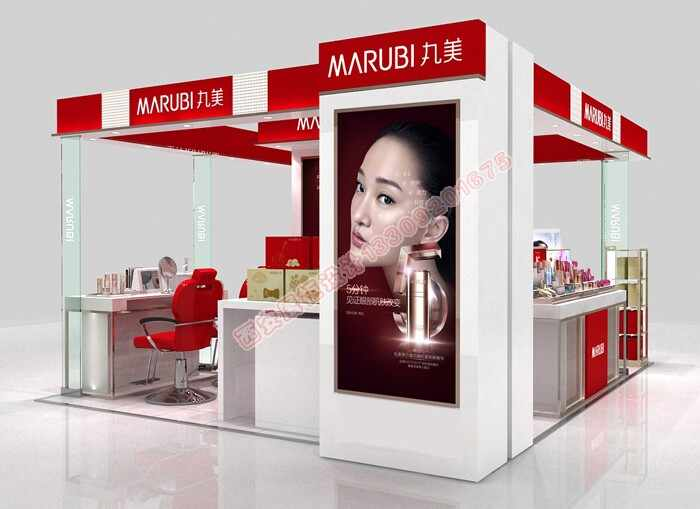 化妆品岛柜设计