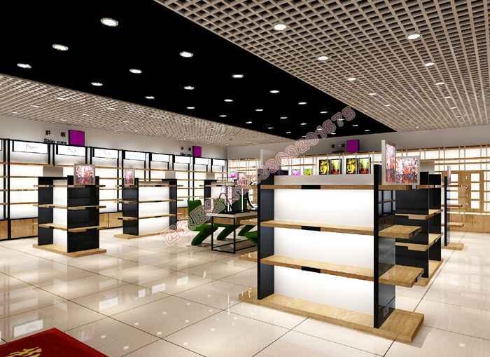 化妆品店面货柜设计