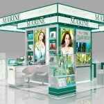 深海之谜化妆品商场岛柜设计方案