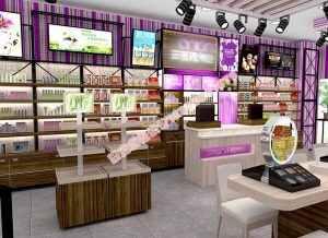 商家如何通过化妆品展示柜设计方案来实现店面创新营销