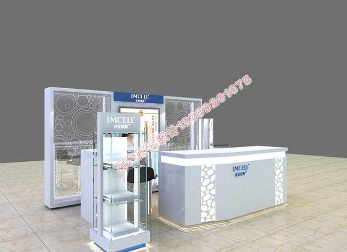 高品质化妆品展示柜制作,高端化妆品展示柜制作需要那些材料