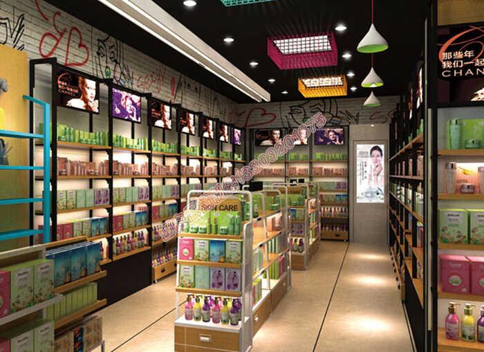 西安化妆品展柜厂