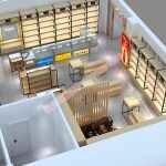 2018最新烟酒店展示柜设计方案