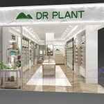 植物医生化妆品2018最新款烤漆展柜设计