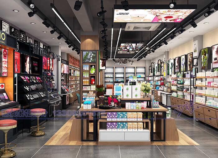 西安市做化妆品展柜的地方