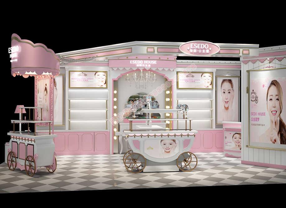 韩国爱丽公主屋化妆品展柜设计方案