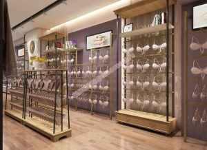 品牌内衣店展示柜设计,文胸展柜制作设计方案,女士内衣展柜制作