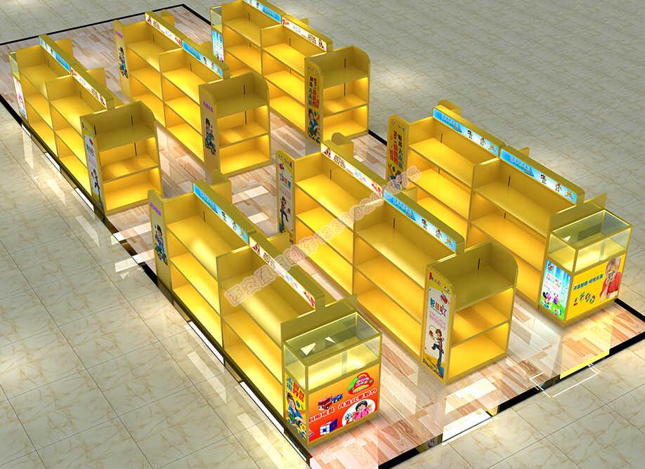 儿童玩具展示柜设计制作厂