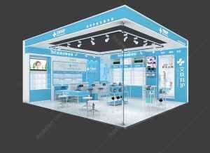 2019年新款药妆化妆品展示柜设计方案,化妆品展柜制作