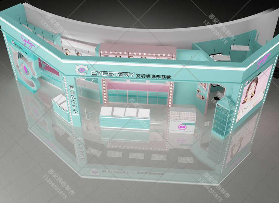眼镜展柜生产厂家如何设计,能给【眼镜展柜设计】加分