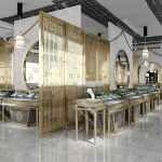高档珠宝展柜,高端珠宝展柜设计方案,商场珠宝展示柜