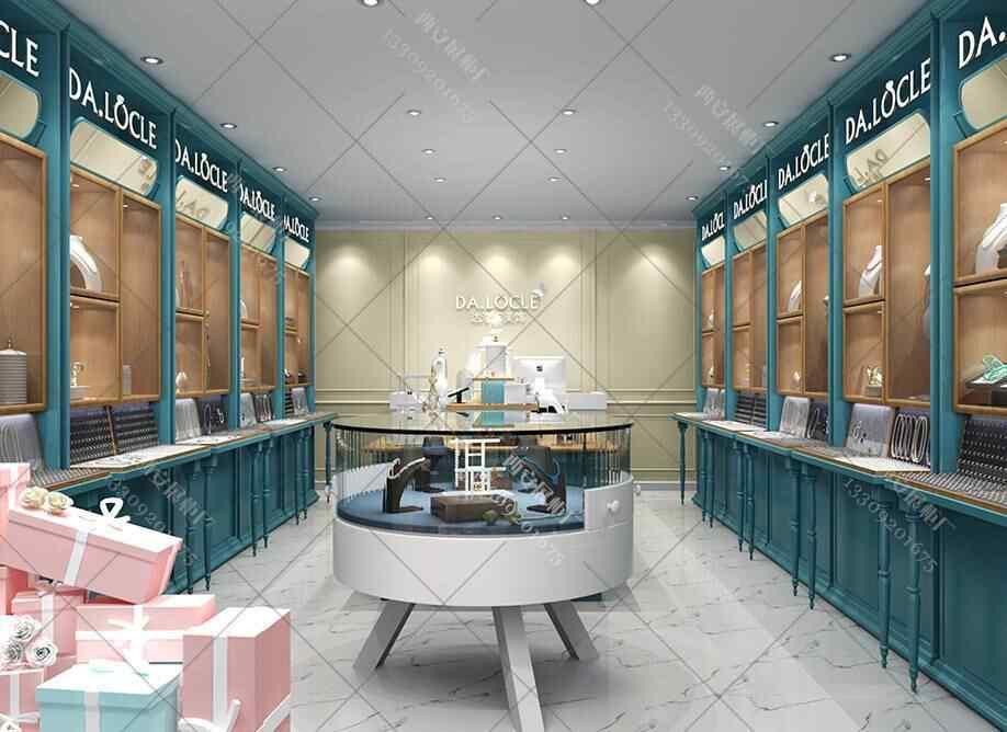 珠宝首饰展柜设计方案