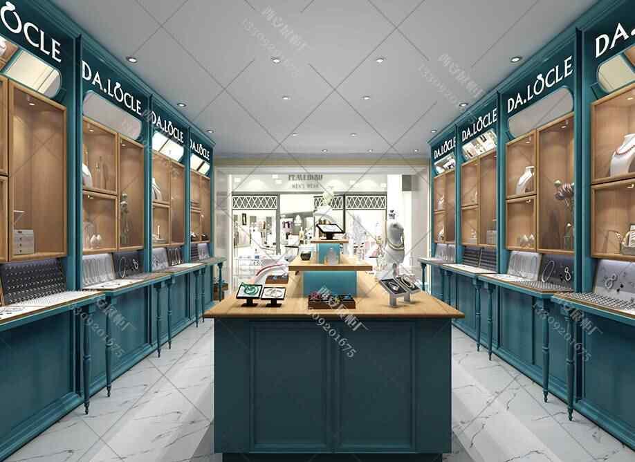 西安珠宝展柜设计方案