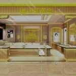 中国黄金珠宝展柜设计方案,珠宝黄金展柜设计制作公司