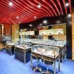珠宝店面烤漆加不锈钢高端珠宝展柜制作案例