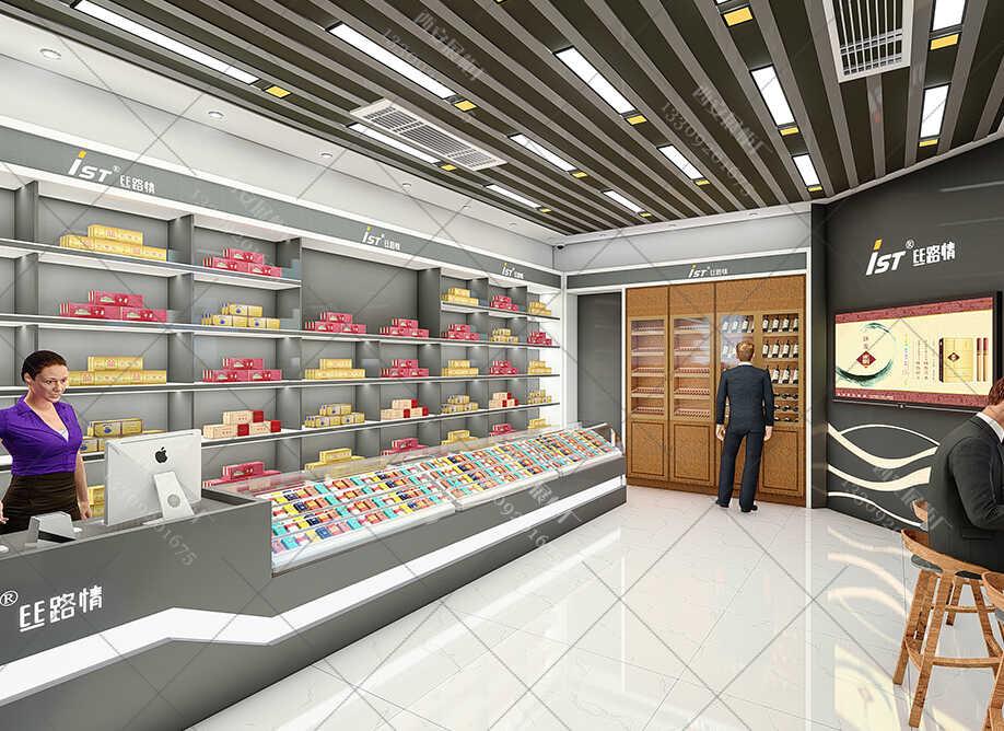 烟酒精品展柜定做似乎成为展柜定制的流行趋势