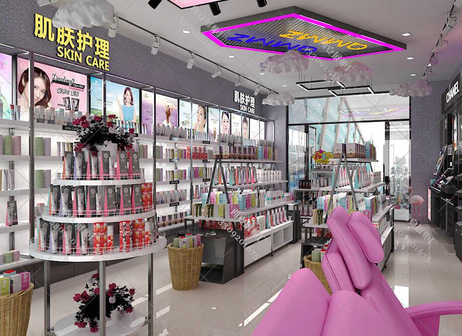 专业化妆品展柜制作公司对化妆品展柜整店输出的分析
