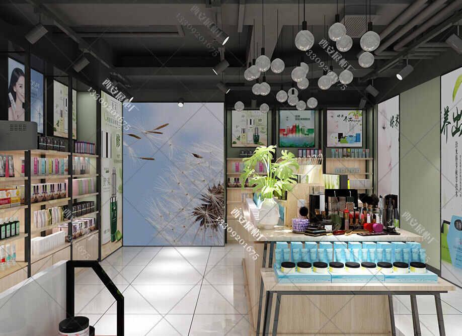 化妆品展柜厂对化妆品展柜整店输出对于商家的优势是什么