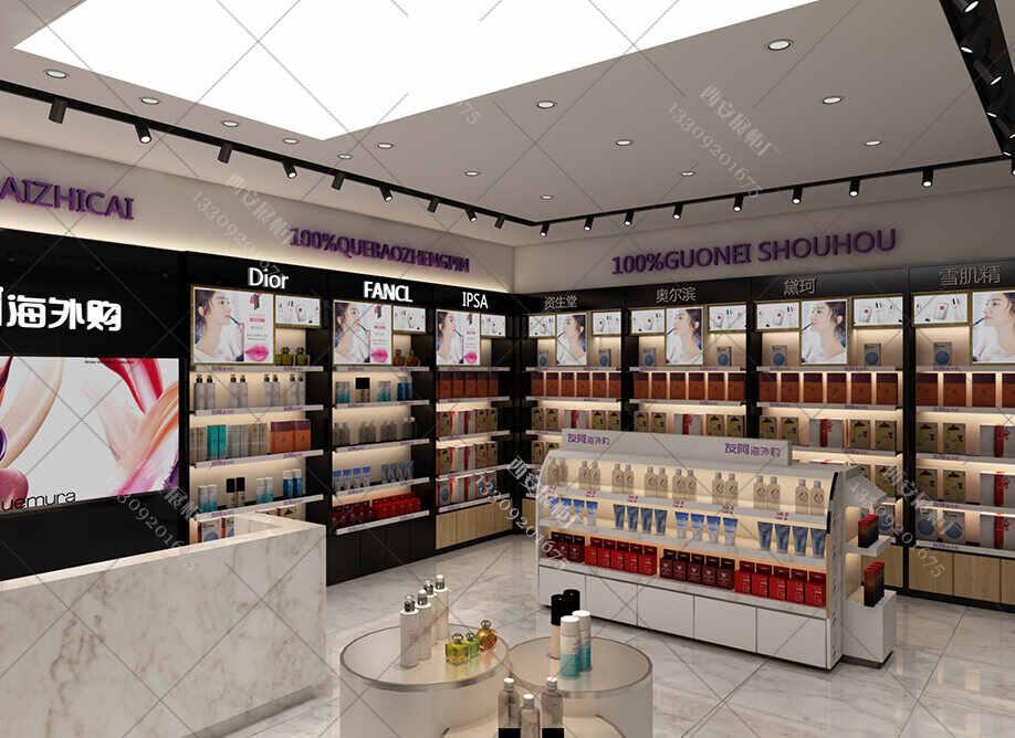 化妆品高端展柜订制 搜