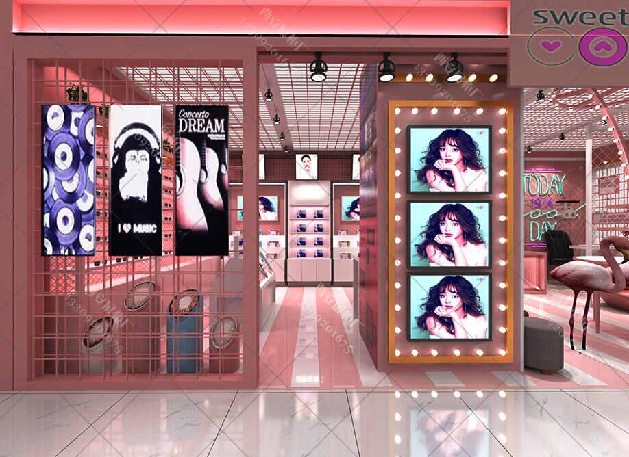 【展柜定制厂】家对于眼镜店展柜以及装修的设计思维