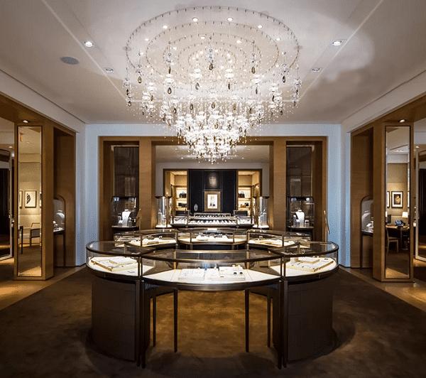 珠宝展示柜台厂家对于珠宝展柜设计制作的多样化
