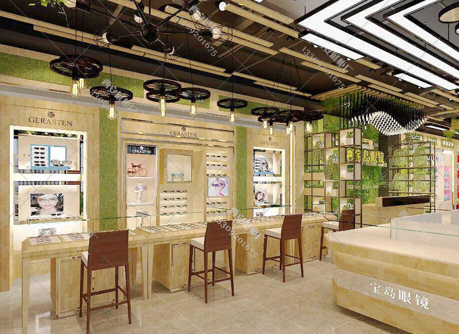 眼镜店想要成为旺铺,眼镜太阳镜展柜细节得注意