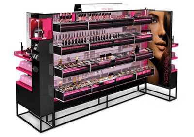 【化妆品展柜】设计制作中展柜厂的核心要素是什么