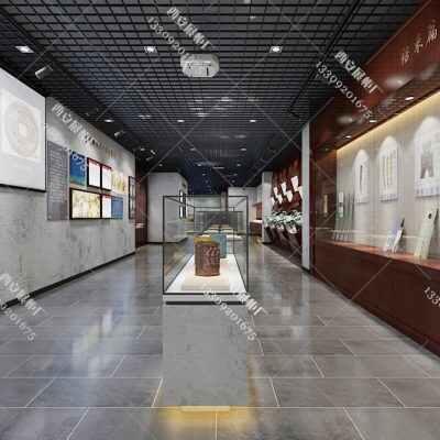 【成都乌木艺术博物馆展柜】设计图博物馆展柜厂家设计方案