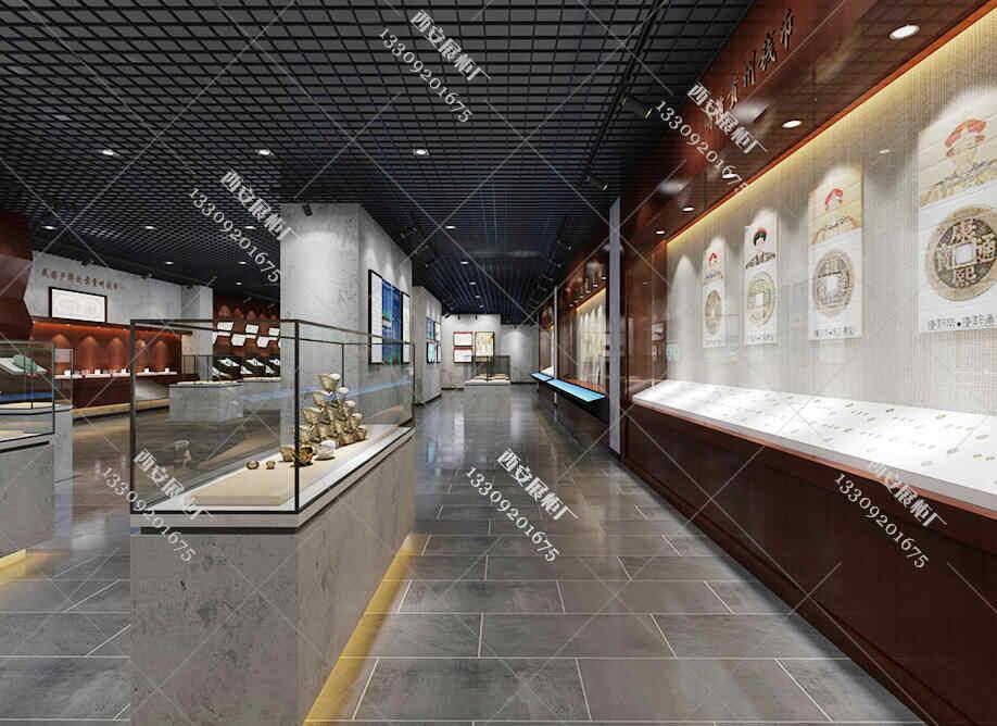 【博物馆展柜】与商业展柜制作之间有何区别?