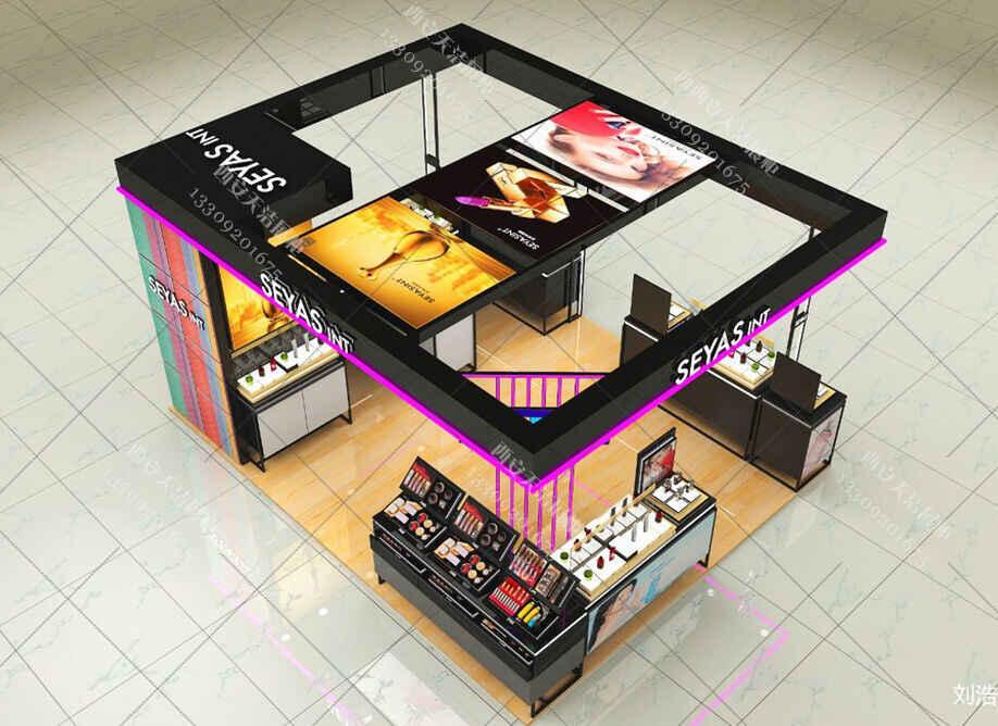 化妆品展柜设计厂家