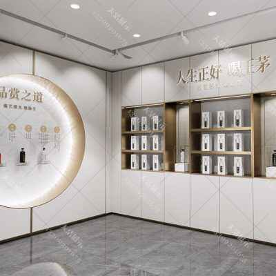 [茅台展柜设计]茅台展柜制作公司,高档白酒展柜设计