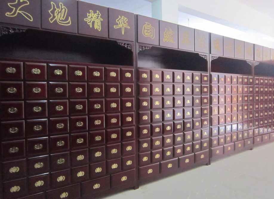 实木中药柜多少钱【定制实木中药柜】案例展示